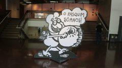 Exposição 50 anos do Pasquim no Sesc Ipiranga