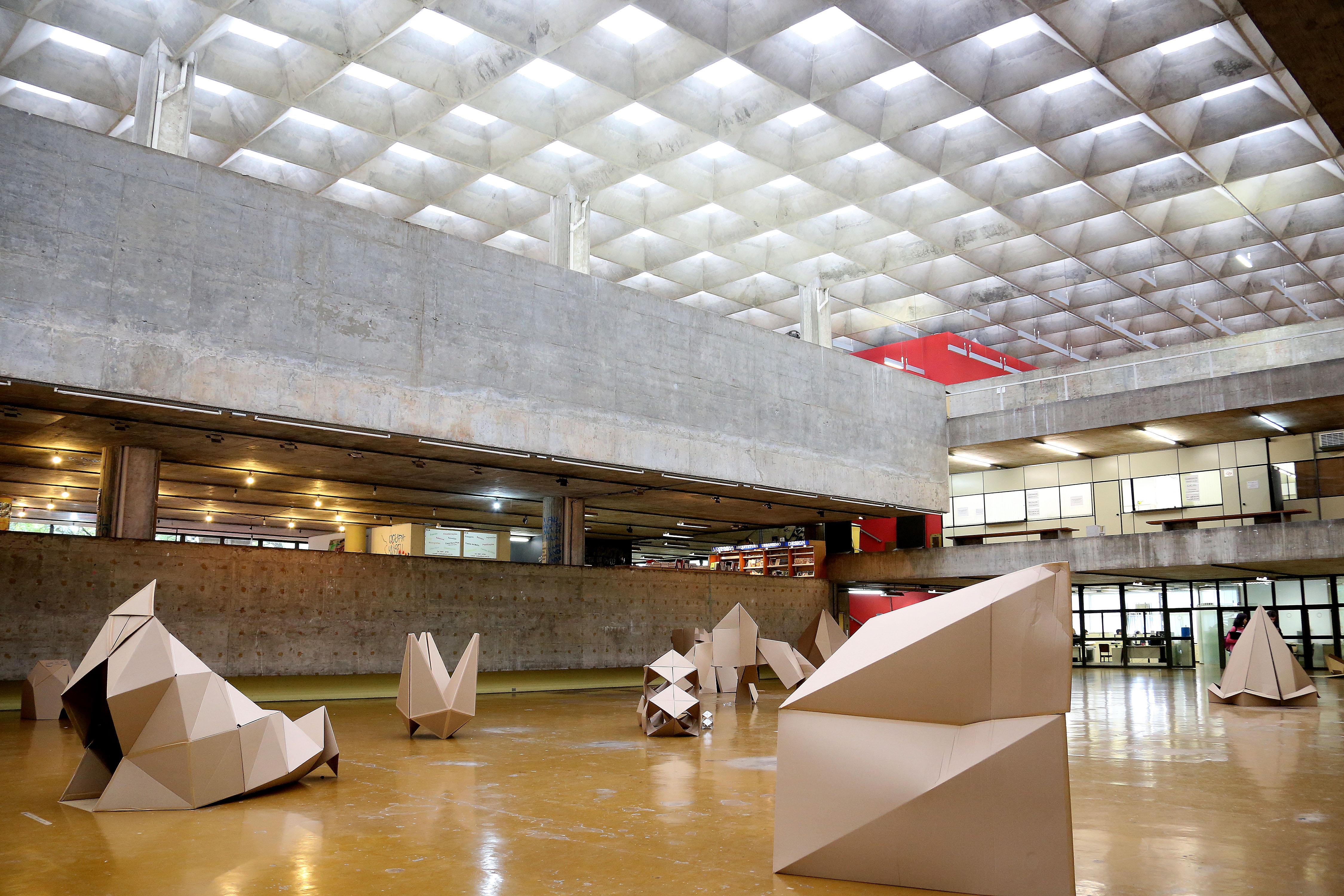 Faculdade de Arquitetura e Urbanismo da Usp. foto Cecília Bastos/USP Imagem