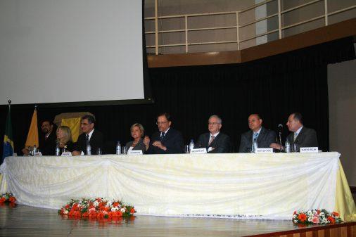 Posse do prof. Sérgio Albuquerque, novo diretor da FCFRP, 2010
