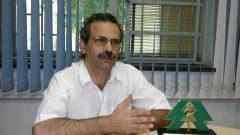 Prof. Evandro Cesarino, da FFCLRP, 2000