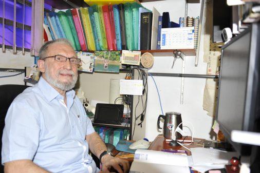 Prof. Osvaldo Antônio Serra, da FFCLRP