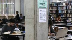 Biblioteca da FFLCH/USP . foto Cecília Bastos/USP Imagem