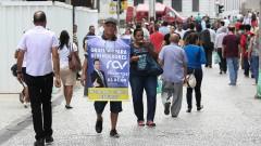 Fluxo de pessoas no centro de São Paulo. foto Cecília Bastos