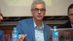 Gerson Yukio Tomanari durante a Reunião dos Dirigentes da USP em Bauru . Data: 30 e 31 de julho de 2019. Foto: Cecília Bastos/USP Imagem