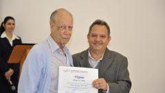 Homenagem, da Prefeitura do campus de Ribeirão Preto, ao prof. José Eduardo Dutra de Oliveira, 2013