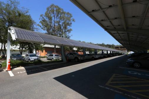 Usina Solar Fotovoltaica 540kW II – Instituto de Energia e Ambiente