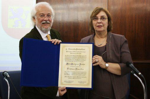 Outorga do título de professor emérito a Davi Arrigucci Júnior