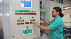 Paulo Santos, funcionário do Instituto de Pesquisas Energéticas e Nucleares (Ipen). Foto Cecília Bastos