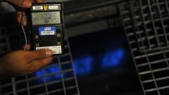 Detector de radiação no Instituto de Pesquisas Energéticas e Nucleares (Ipen). Foto Cecília Bastos