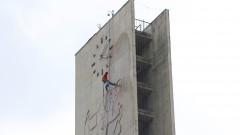 Limpeza da Torre do Relógio