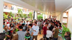 Manifestação dos alunos da FDRP, em 10/04/2012