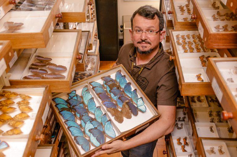 Marcelo Duarte da Silva é vice diretor do Museu de Zoologia. Foto: Cecília Bastos/USP Imagem