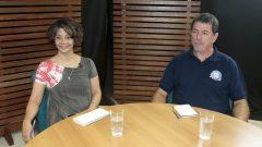 Programa Diálogos na USP – Vida Saudável. Marília Velardi e Douglas Roque Andrade