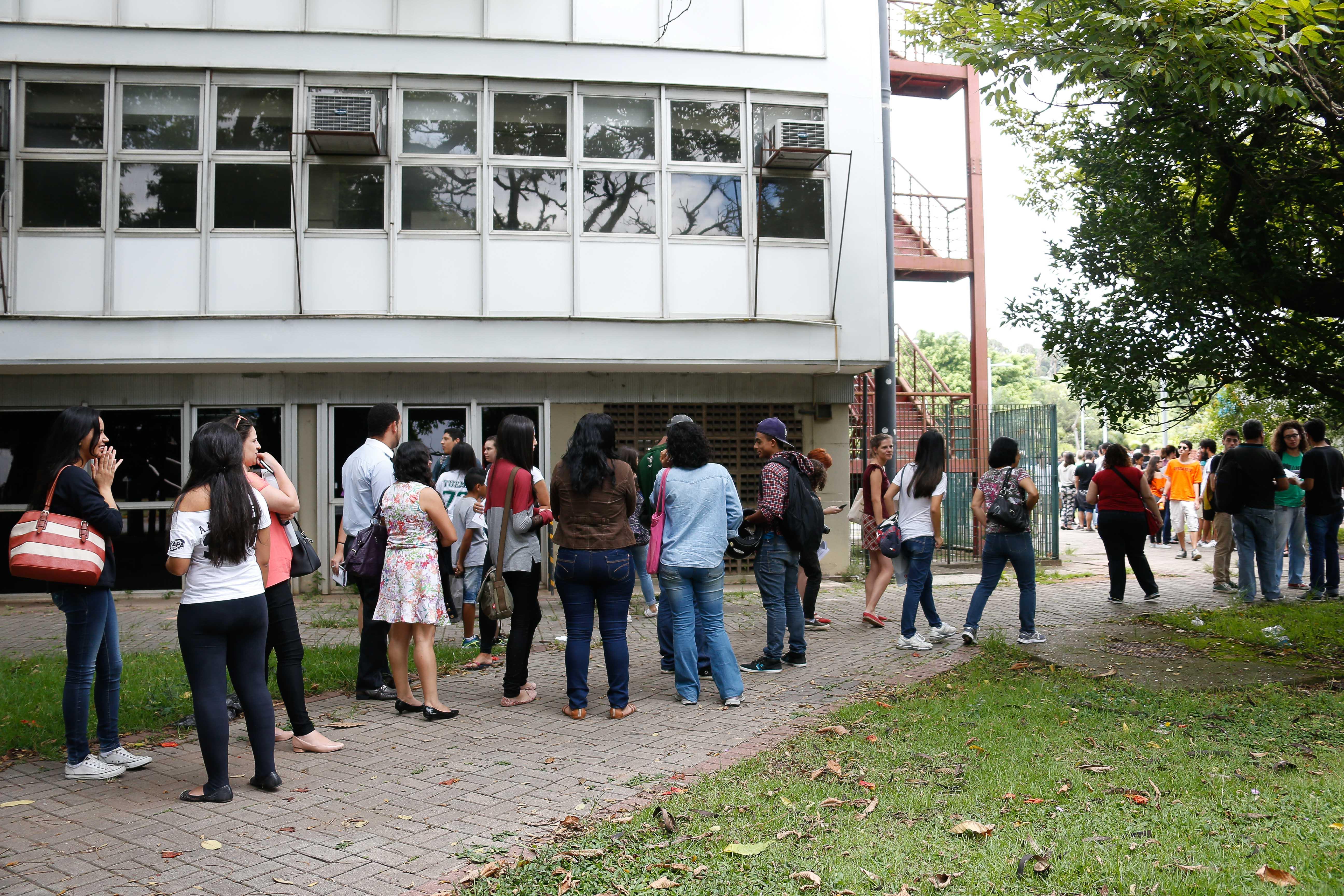 Matrícula dos aprovados para estudar na USP via Sistema de Seleção Unificada (Sisu). foto Cecília Bastos