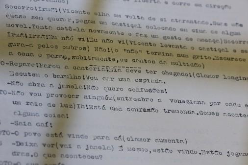 """Arquivo Miroel Silveira – Peça: """"Os Caminhos de Deus de Eudinyr Fraga"""""""