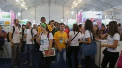 POli = 14ª Edição da Feira Brasileira de Ciências e Engenharia (FEBRACE) - foto Cecília Bastos