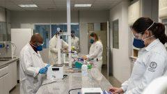 Distanciamento Social nos laboratórios