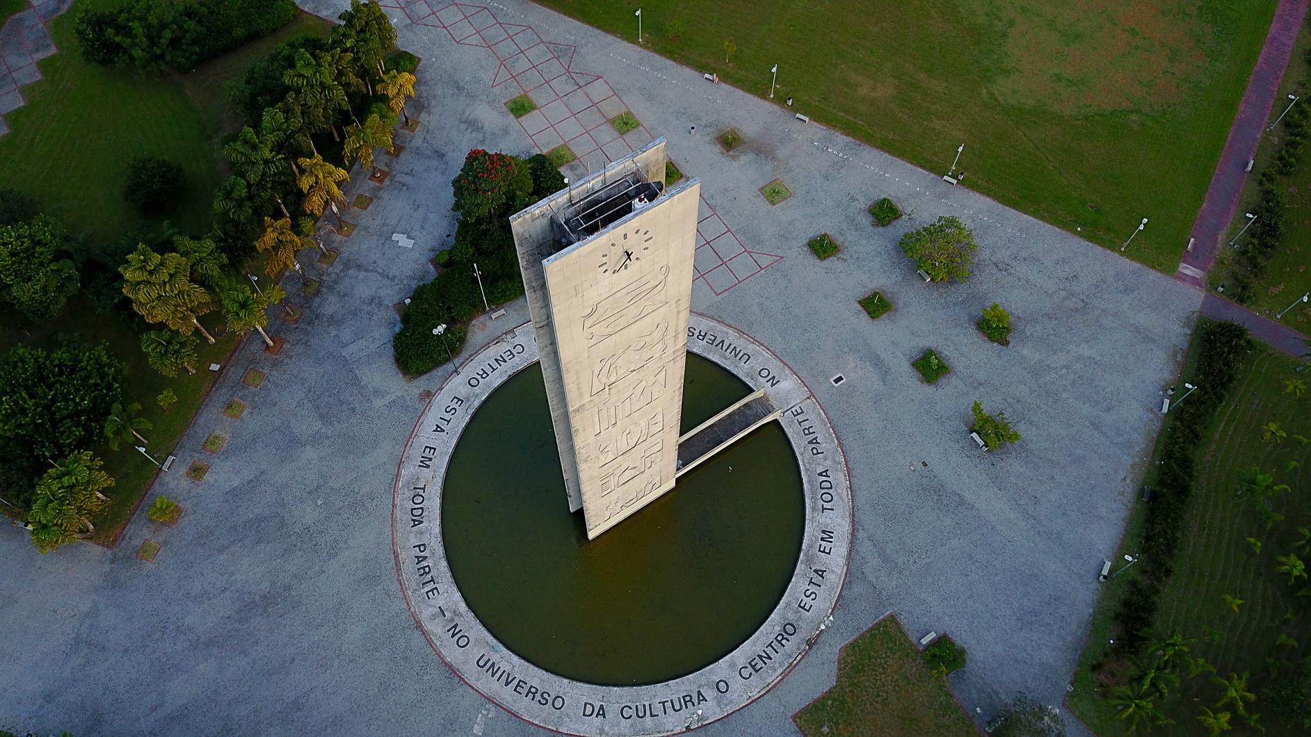 Praça do Relógio. Foto: Cecília Bastos/Usp Imagens