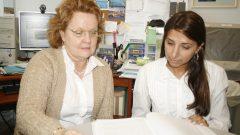 Profa Maria Beatriz Martins Linhares, da FMRP e Luciana Leonete Correia, 2010