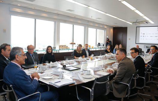 Segunda reunião com os patrocinadores do projeto do Novo Museu do Ipiranga