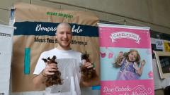 Calouro Rubens Erlich da FEA participa do trote solidário com a doação de cabelo no primeiro dia de