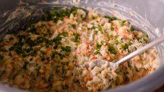 Salada de maionese. Foto: Cecília Bastos/USP Imagem