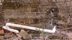 Encanamento, cano de agua. Foto: Cecília Bastos/USP Imagem