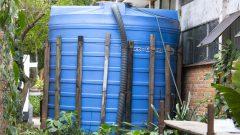 Sistema de irrigação do Instituto de Biociências (IB)