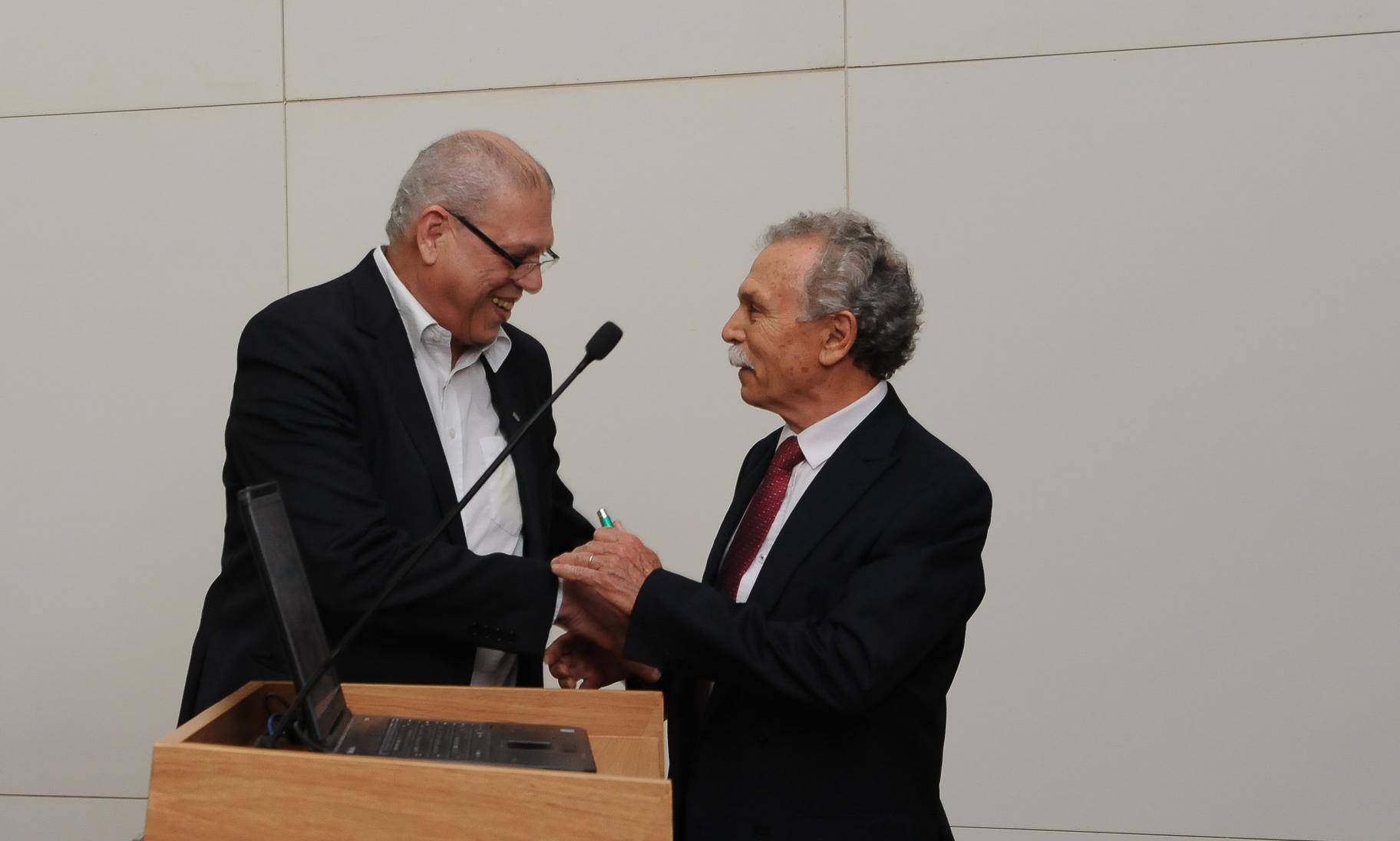 Usp Lecture - Palestra do professor Ricardo Galvão - Autonomia e Liberdade Científica. Foto: Cecília Bastos/USP Imagem