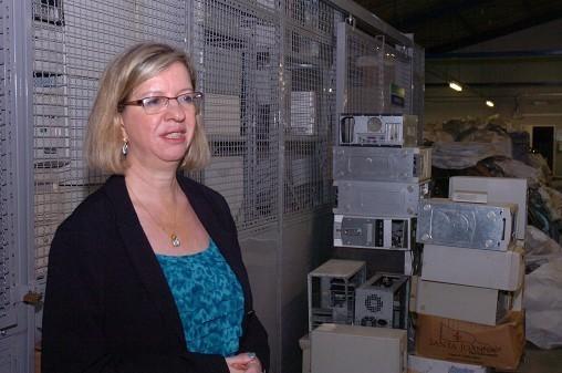 Centro de Descarte e Reúso de Resíduos de Informática da USP