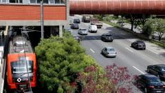 Trânsito na marginal Pinheiros. foto Cecilia Bastos