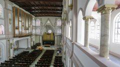 Catedral Evangélica -Órgão de tubos cedido pela Universidade