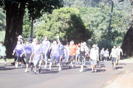 V Caminhada da Saúde, CEFER, 2009