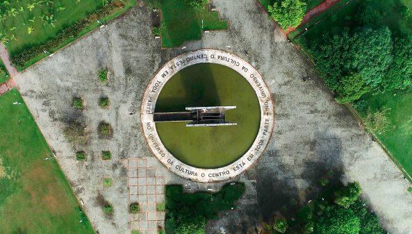 Cidade Universitária – Vista aérea drone